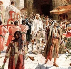 Jesus to Jerusalem