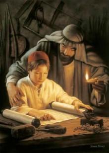 joseph and child jesus