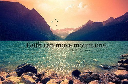 Faith-Mountains