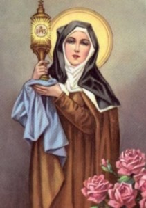 Saint Clare of Asisi