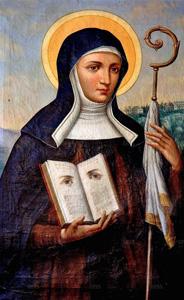 Saint Odilia of Alsace – † My Little Catholic Nook ツ